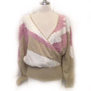 Fun 80s Vintage Sweater by Maurada